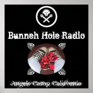 Poster ENORME del agujero de Bunneh