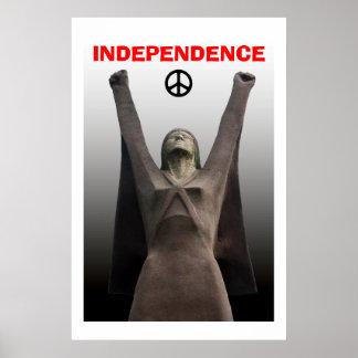 Poster escocés de Pasionaria del La de la independ