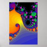 Poster: Espirales del fractal
