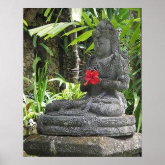 Poster: Estatua de Bali Póster