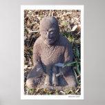 Poster estudioso del monje