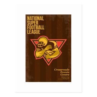 Poster estupendo nacional americano de la liga de  tarjeta postal