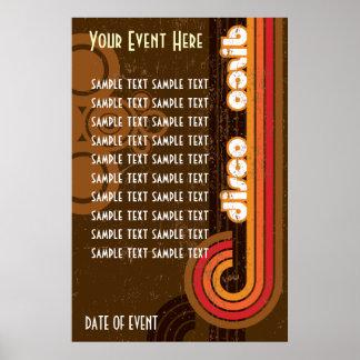 Poster Event Disco