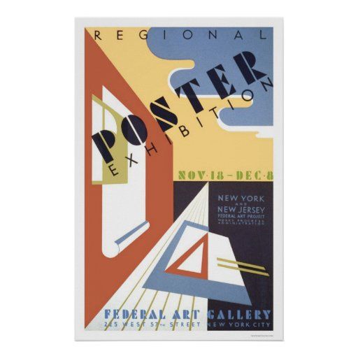Poster Exhibition 1939 WPA