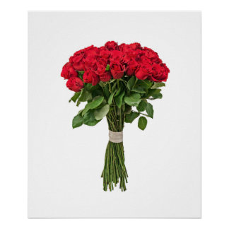 Poster exquisito de las flores