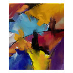 """Poster Extra Large model """"Abstract 1412 """""""