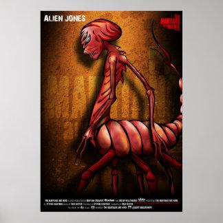 Poster extranjero de TMAH Jones
