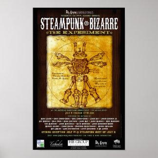 Poster extraño 2 de Steampunk Póster