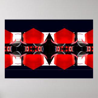 Poster extremo rojo y negro 1 CricketDiane del dis