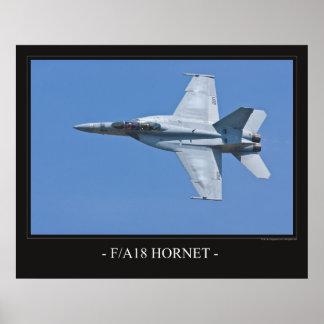 Poster F/A -18 Hornet Jet Plane