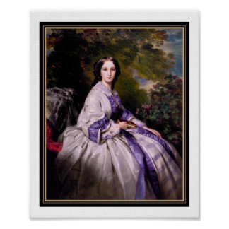 Poster Famous Vintage Art Countess Alexander 1859