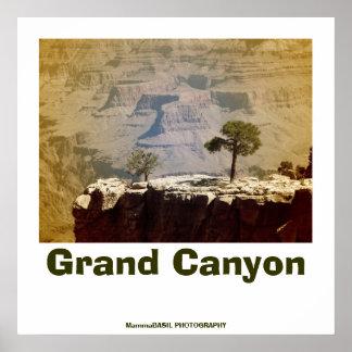 Poster fantástico del Gran Cañón