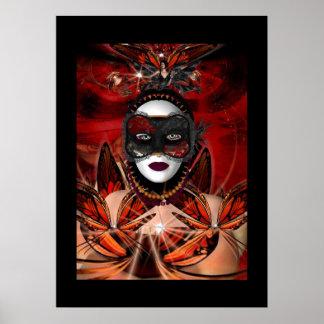 Poster Fantasy Art Butterfly Queen