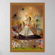 Poster Fantasy Art Dancer And Fairy