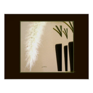 Poster - Feather and Vase 3