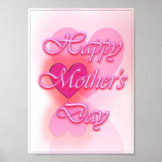 Poster feliz 3 del día de madre