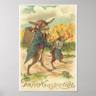 Poster feliz de Eastertide