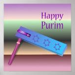 Poster feliz de Purim