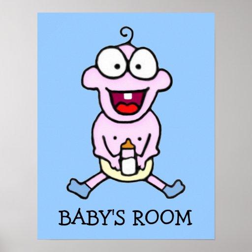 Poster feliz del bebé