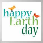 Poster feliz del Día de la Tierra