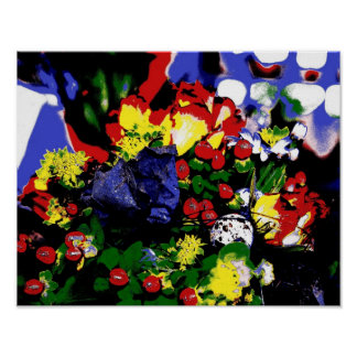 Poster Flowers Pop kind