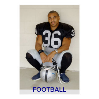 Poster, Football Player Poster