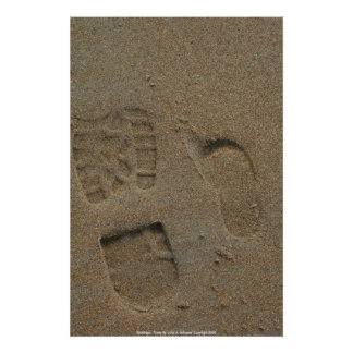 Poster Footsteps - Photo By: John ...