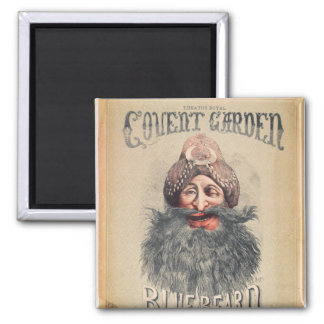 Poster for a Christmas pantomime 2 Inch Square Magnet