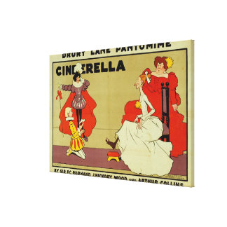 Poster for 'Cinderella' Canvas Print