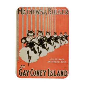 Poster for 'Mathews & Bulger' at Gay Coney Island Magnet