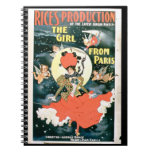 Poster for 'Rice's Production of The Girl from Par Spiral Notebook