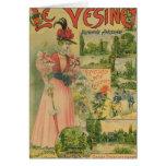Poster for the Chemins de Fer de to Le Vesinet Card