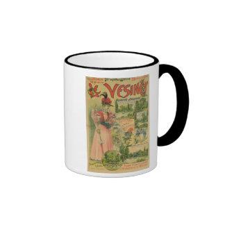 Poster for the Chemins de Fer de to Le Vesinet Mug