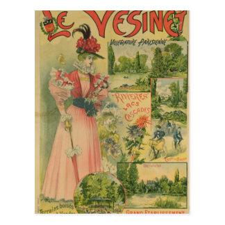 Poster for the Chemins de Fer de to Le Vesinet Postcard