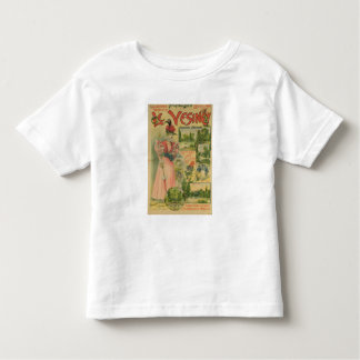 Poster for the Chemins de Fer de to Le Vesinet Toddler T-shirt