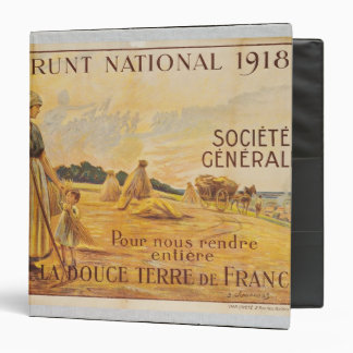 Poster for the Loan for National Defence 3 Ring Binder