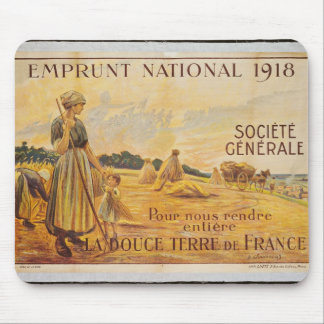 Poster for the Loan for National Defence Mouse Pad