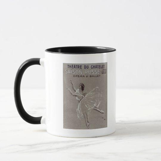 Poster for the 'Saison Russe' Mug