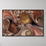 poster fractal-digital del arte