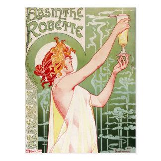 "Poster francés ""ajenjo Robette "" del nouveau del Postales"