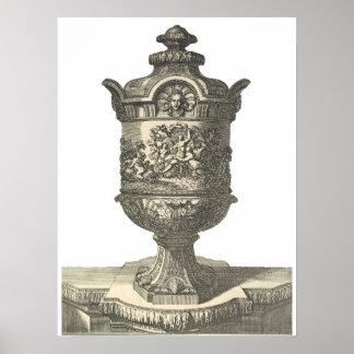 poster francés antiguo de la urna 2