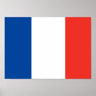 Poster francés de la bandera