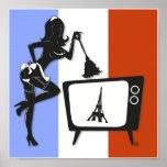 Poster francés de la criada TV