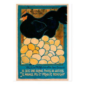 Poster francés de la propaganda de la guerra - postales