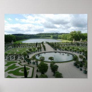 Poster Francia de la foto de Orangerie del jardín