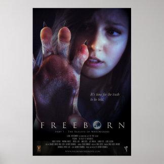 Poster Freeborn de Sherri
