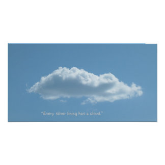 Poster fresco de la nube