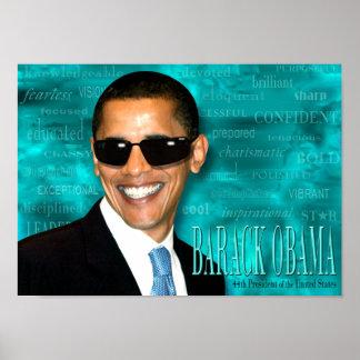 Poster fresco de Obama