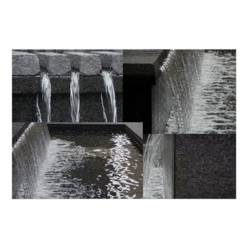 POSTER: Fuente de agua