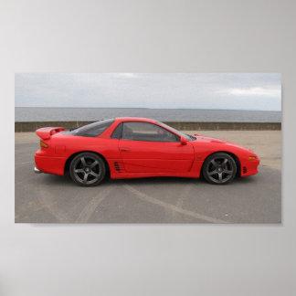 Poster gemelo 2 de Mitsubishi GTO 3L Turbo